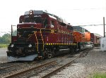 NHIR 2198, PNRR 5342 handling train from New Hope to Lansdale for Founders Day event.